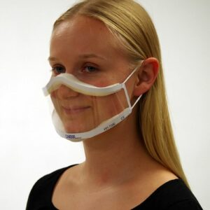 XRT-7300 Clear view mouth visor